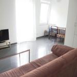Wohnwerk41 – Apartment1 - helle Essecke und Wohnbereich