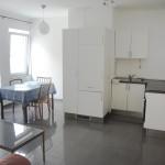 Wohnwerk41 –Apartment1 - Kueche und Essecke