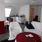 Wohnwerk41-Apartment7- Kueche und Wohnraum