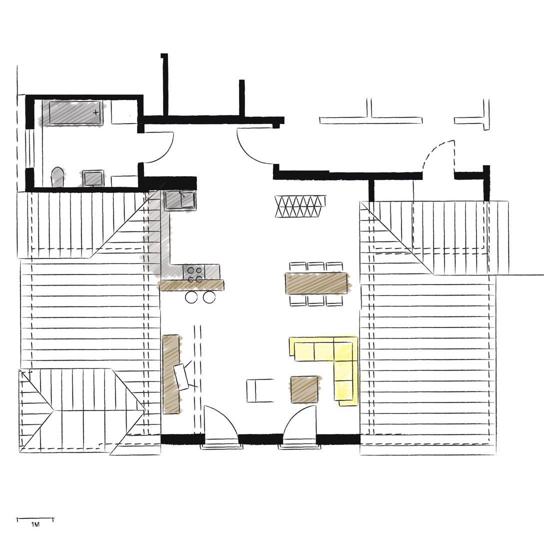 Wohnwerk41-Apartment9-Schnitt