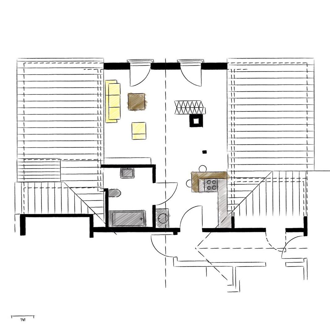 Wohnwerk41-Apartment8-Schnitt