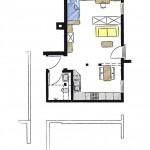 Wohnwerk41 – Apartment2 - Grundriss