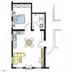 Wohnwerk41 – Apartment 4 – Grundriss